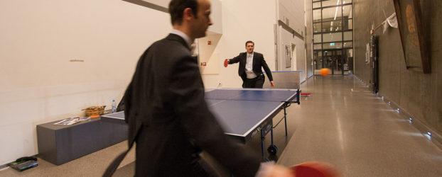 Nel Backstage della Berliner Philharmoniker si gioca a Ping Pong