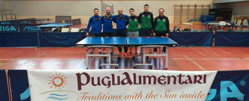 Doppia festa per l' A.S.D. TT Maurizio Lembo Monopoli : doppia promozione, in C1 Nazionale e C2 Regionale